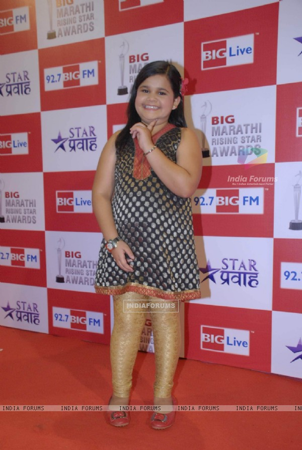 Saloni Daini at Big Marathi Rising Star Awards at Bhavans
