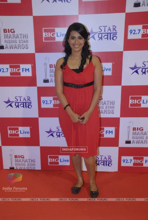 Celebs at Big Marathi Rising Star Awards at Bhavans. .