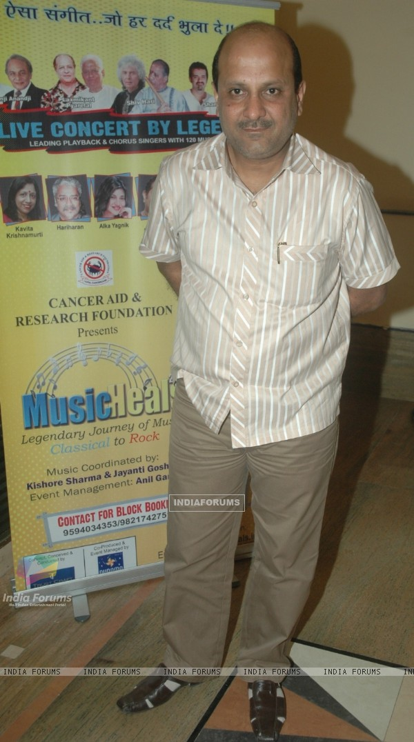 "Celebs at Grand rehearsal of ""Music Heals""in Cancer Aid & Research Foundation"