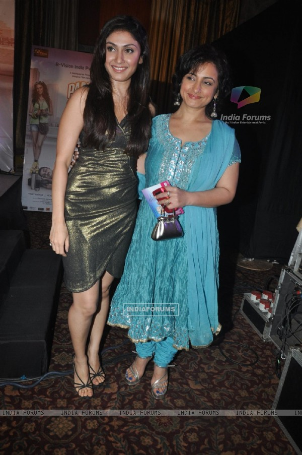 Divya Dutta and Sagarika Ghatge at 'Pappu Can't Dance Saala' music launch at Sea Princess
