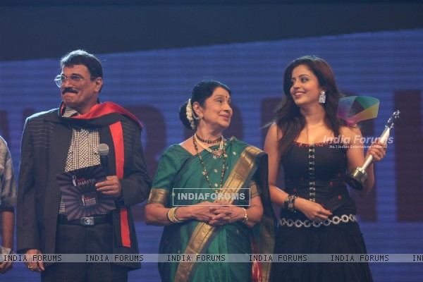Celebs at BIG Marathi Rising Star Awards 2011