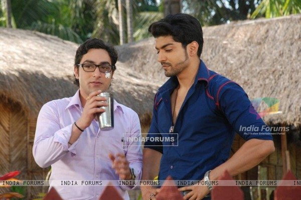 Gurmeet as Maan with Adi