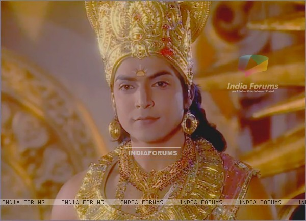 Gurmeet as Lord Ram in Ramayan