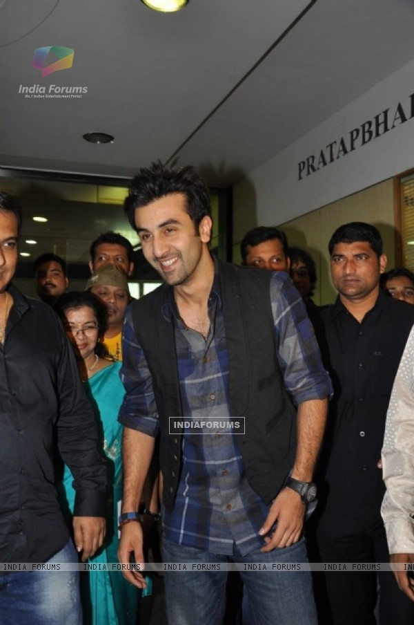Ranbir Kapoor at 51st Annual Function of Mithibai College in Vile Parle, Mumbai