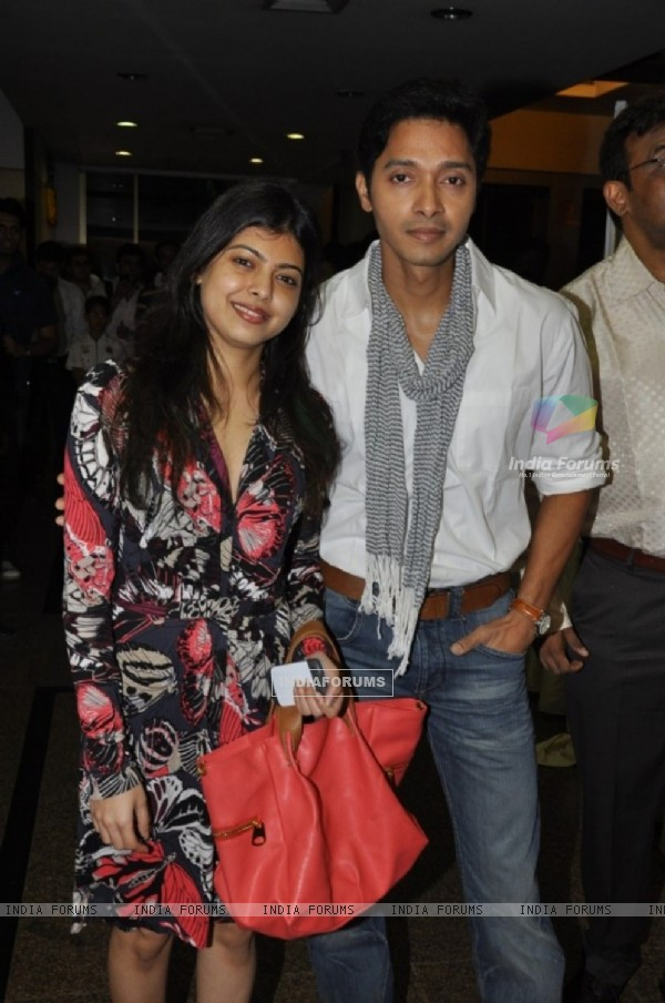 Shreyas Talpade at 51st Annual Function of Mithibai College in Vile Parle, Mumbai