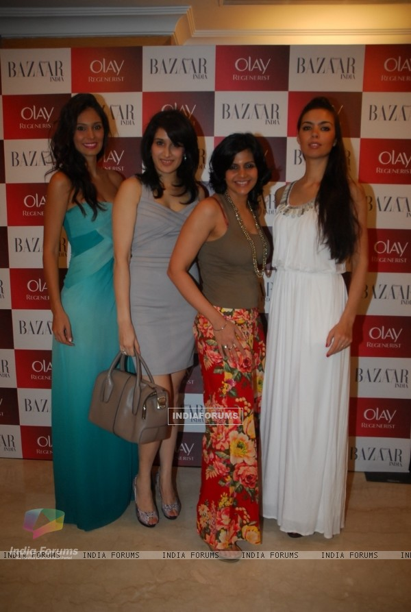 Sagarika Ghatge, Mandira Bedi at Olay launches Olay Regenerist in colaboration with Harpers Bazaar