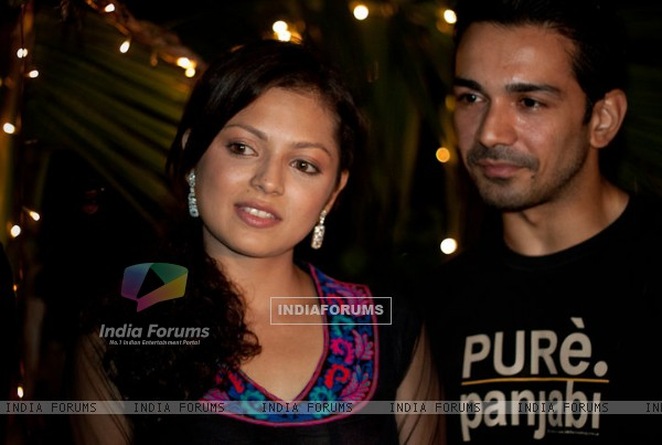 Drashti aka Geet with Dev