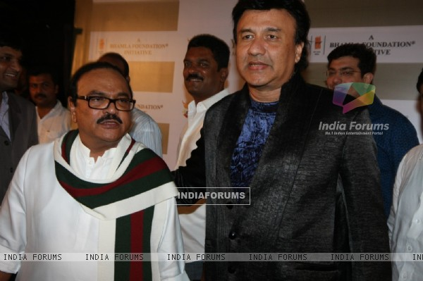 Anu Malik at DY Patil Annual Achiever's Awards at Hotel Taj Lands End in Bandra, Mumbai