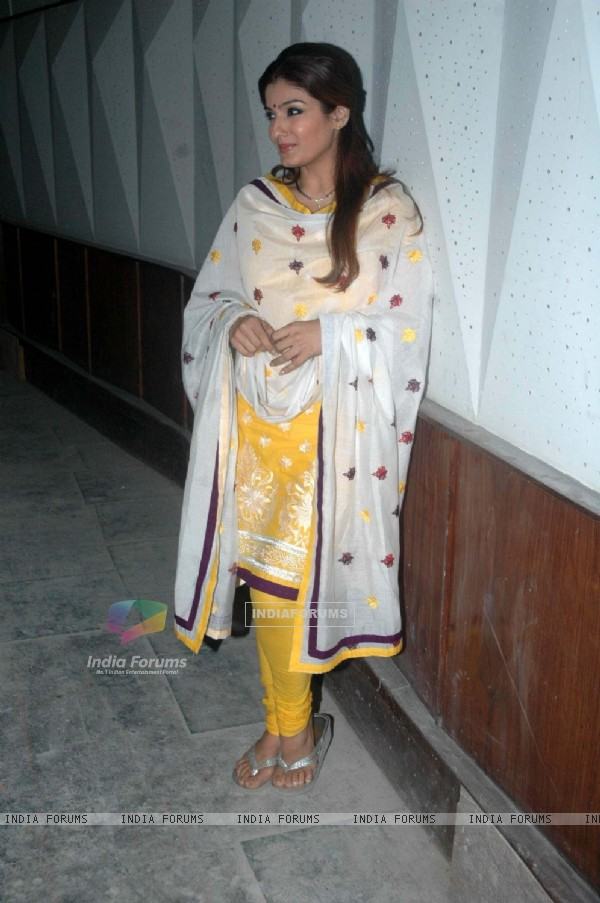 Raveena at children's day celebrations at Mehboob. .