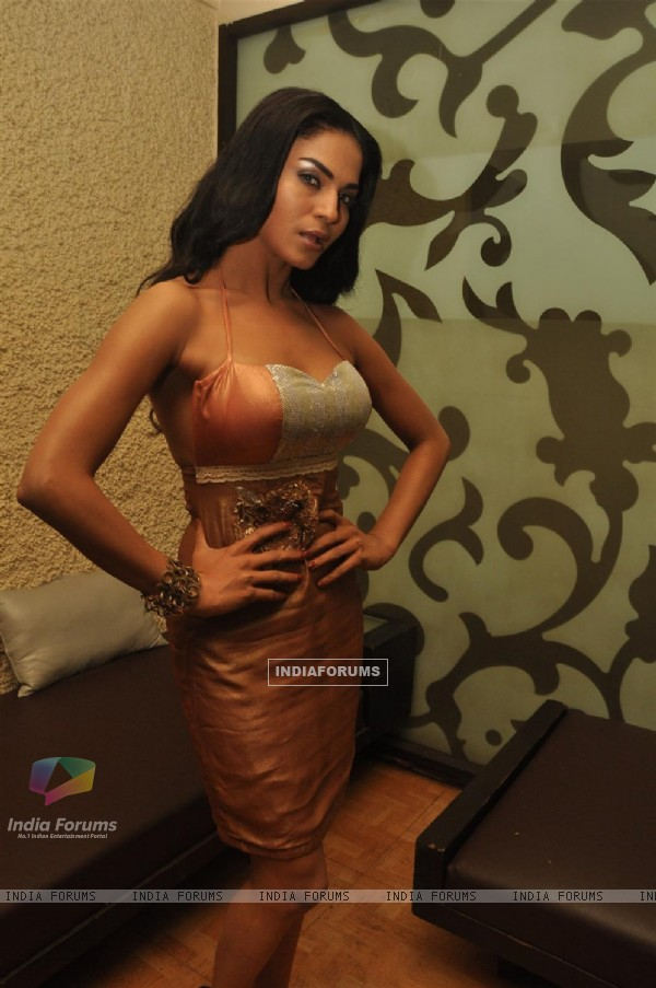 Veena Malik at on location shoot of film 'All U Need..Love' director by Atul Garg