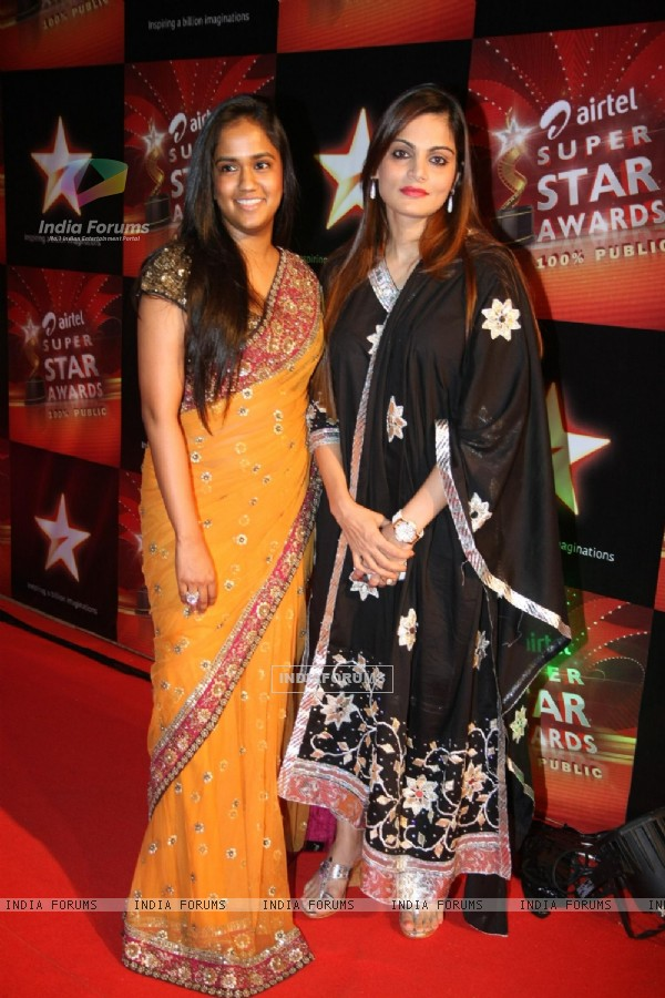 Celebs at Super Star Awards in Yashraj
