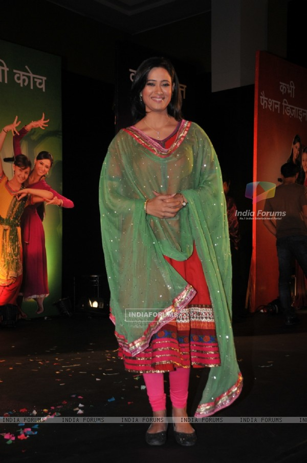 Shweta Tiwari at launch of Sony TV new show 'Parvarrish' at Powai