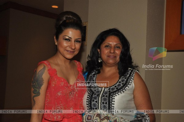 Hard Kaur at Raj and Pablo's Bollywood T-shirt launch