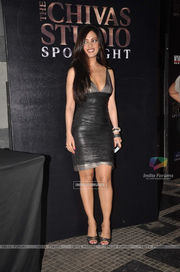 Riya Sen at The Chivas Studio spotlight party at Grand Hyatt Mumbai