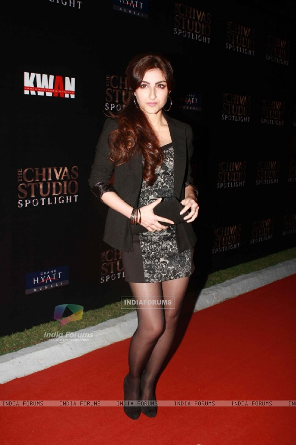 Soha Ali Khan grace The Chivas Studio spotlight party at Grand Hyatt Mumbai