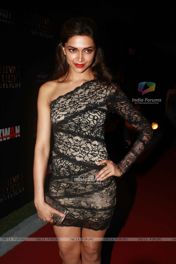 Deepika Padukone grace The Chivas Studio spotlight party at Grand Hyatt Mumbai