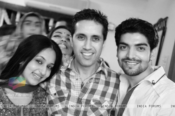 Gurmeet with his friends