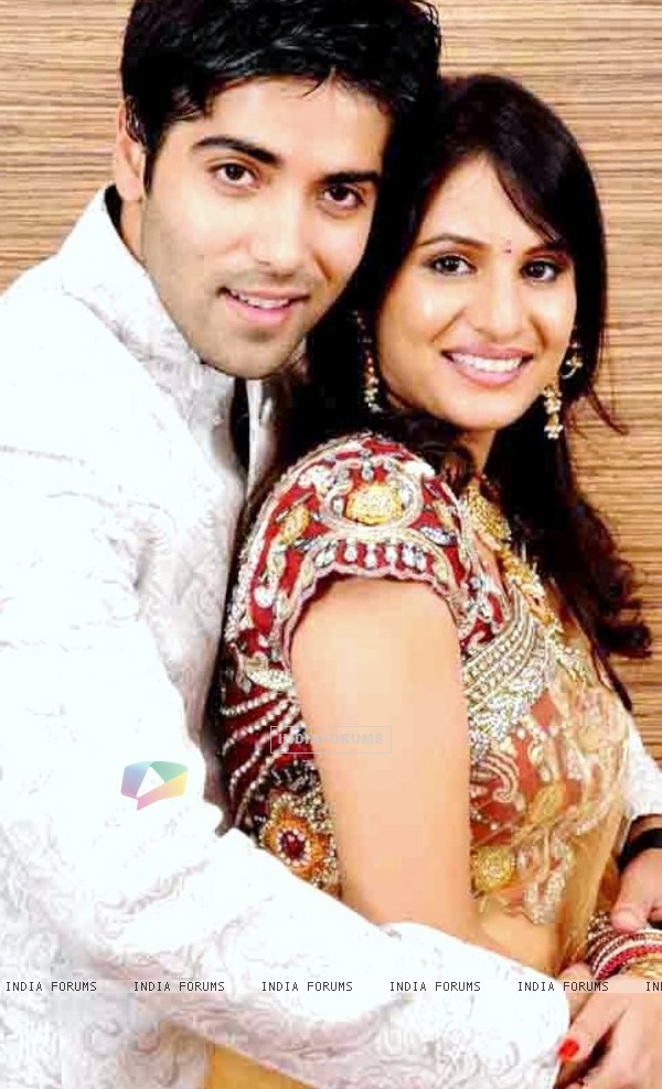 Kinshuk Mahajan With his wife Divya Dutta