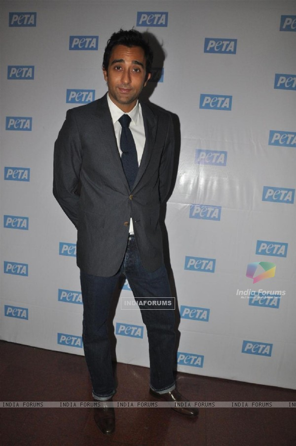 Rahul Khanna at PETA Awards ceremony