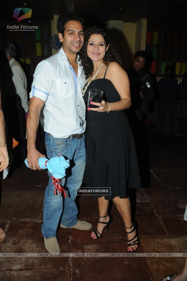 Karan Mehra with Tanaaz Irani hosts a surprise party for her husband Bakhtiyaar Irani