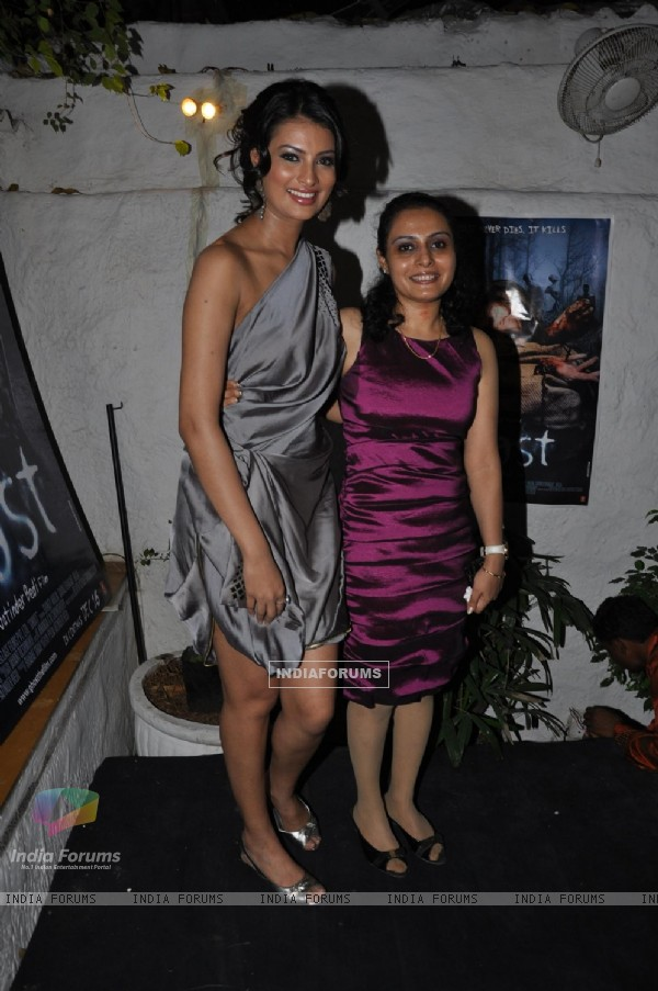 Sayali Bhagat at launch of film 'Ghost' music at Olive Kitchen and Bar at Bandra in Mumbai