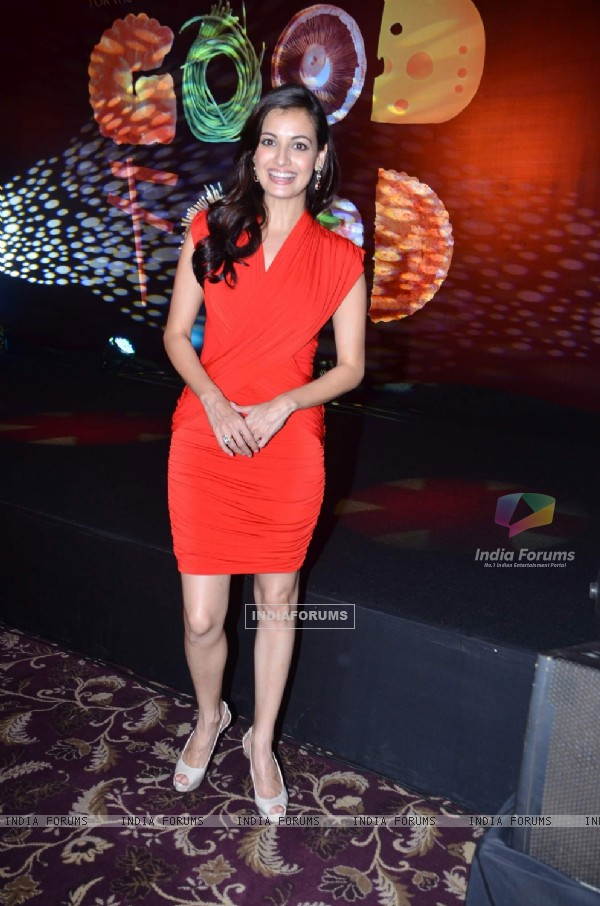 Dia Mirza at launch of GoodFood Magazine