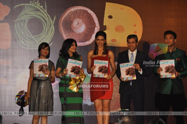 Deepika Padukone launches GoodFood Magazine