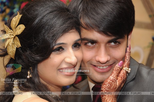 Vivian Dsena and Vahbiz Dorabjee Engagement Ceremony