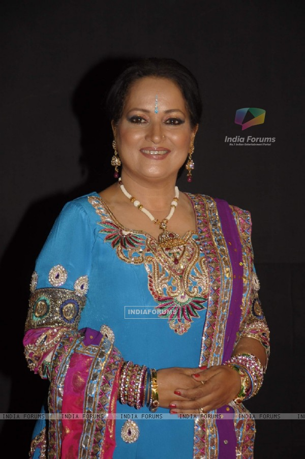 Himani Shivpuri at Golden Petal Awards By Colors in Filmcity, Mumbai