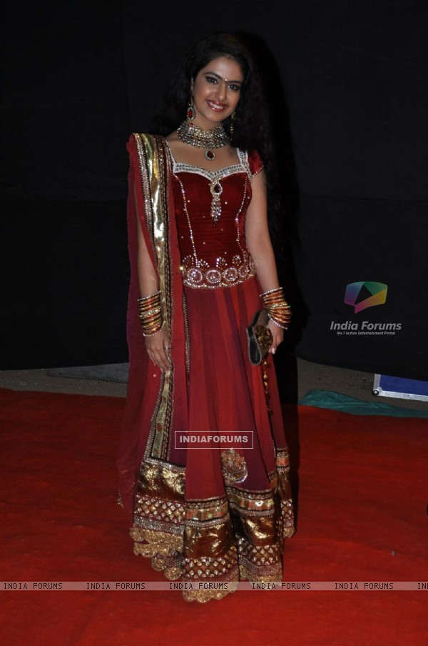 Avika Gor at Golden Petal Awards By Colors in Filmcity, Mumbai