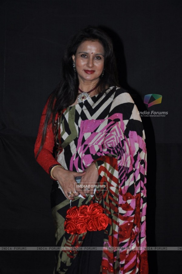 Poonam Dhillon at Golden Petal Awards By Colors in Filmcity, Mumbai