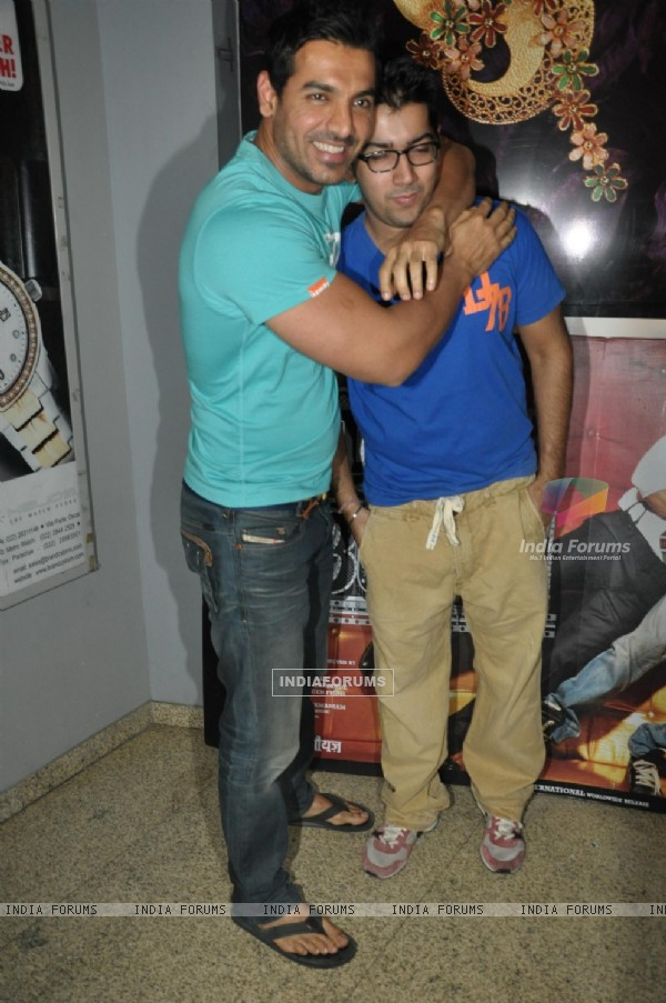 John Abraham grace screening of film 'Desi Boyz'