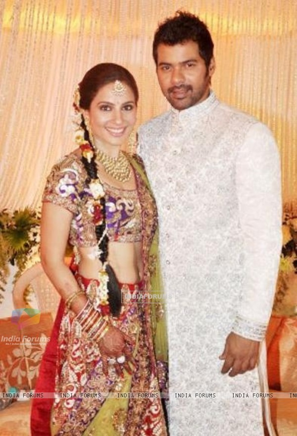 Shabbir Ahluwalia and Kanchi Kaul wedding ceremony