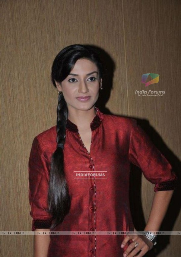 Rati Pandey in a press meet of Hitler Didi