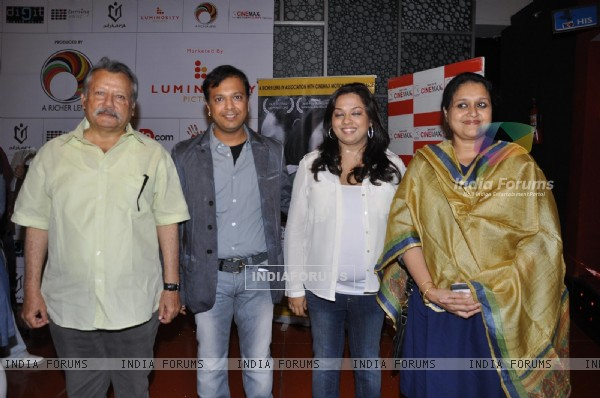 Pankaj Kapoor and Supriya Pathak grace the premiere of film 'Land Gold Women' at Cinemax