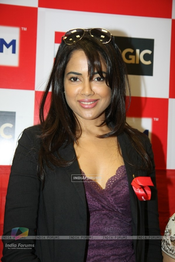 Sameera Reddy at 92.7 BIG FM on the occasion of World Aids Day, Mumbai