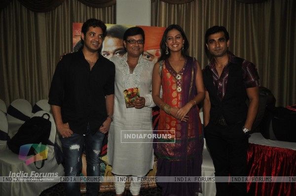 Music launch of Sachin Pilgaonkar Marathi UFO film 'Sharyat'