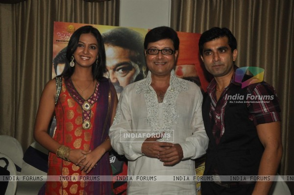 Celebs at Music launch of Sachin Pilgaonkar Marathi UFO film 'Sharyat'
