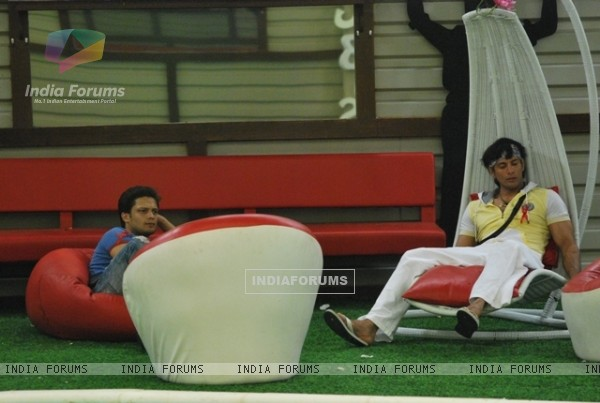 Still scene from Bigg Boss house