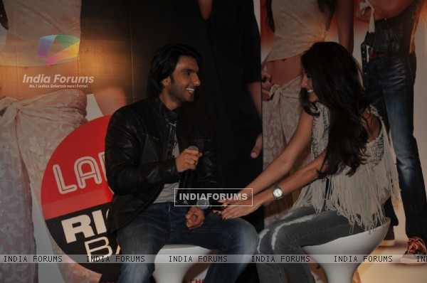 Ranveer Singh and Anushka Sharma grace Ladies V/s Ricky Bahl event at Yashraj, Mumbai
