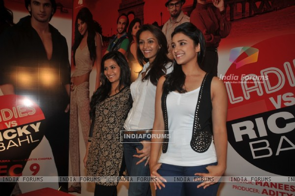 Parineeti Chopra, Dipannita Sharma, and Aditi Sharma grace Ladies V/s Ricky Bahl event at Yashraj (172733)