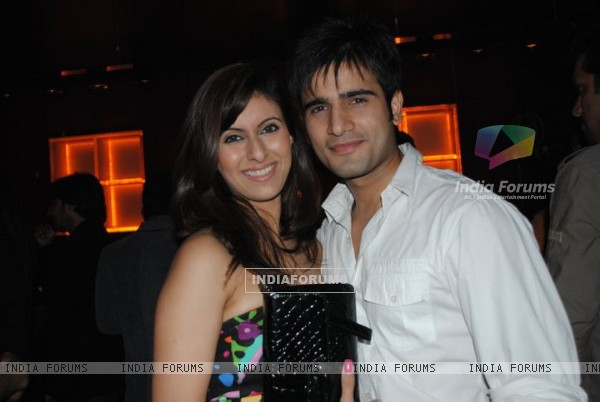 Karan Tacker and Khushboo Grewal at Kaalo Premiere