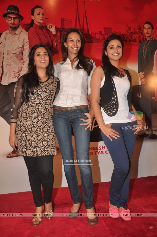 Parineeti Chopra, Dipannita Sharma, and Aditi Sharma grace Ladies V/s Ricky Bahl event at Yashraj, Mumbai. .