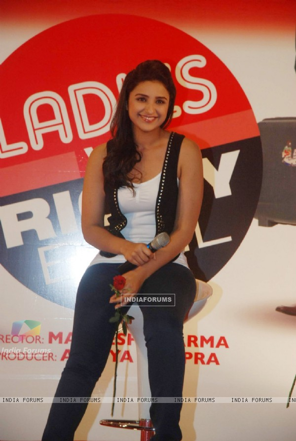 Parineeti Chopra grace Ladies V/s Ricky Bahl event at Yashraj, Mumbai. . (172824)