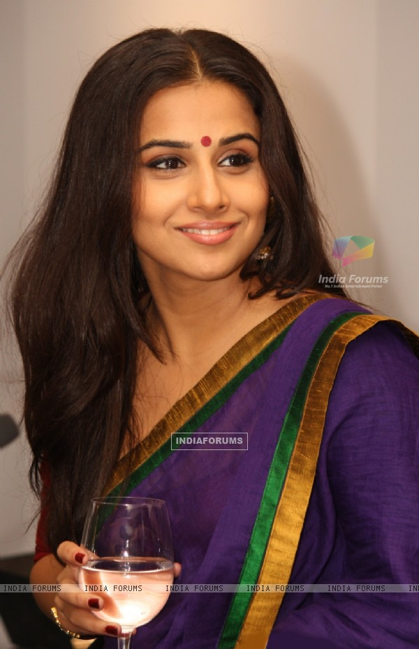 Vidya Balan at the Hindustan Times Leadership Summit 2011, in New Delhi