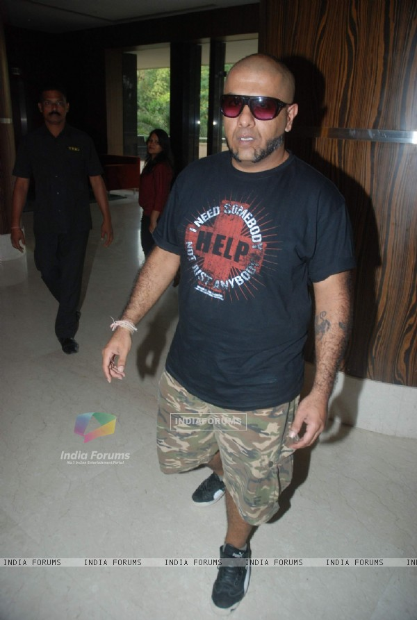 Vishal Dadlani during MCDowell No 1 Dosti Concert at Novotel