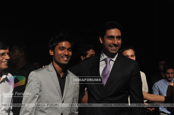 Abhishek Bachchan grace the special screening of Mission Impossible - Ghost Protocol at Imax