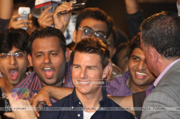 Tom Cruise at special screening of Mission Impossible - Ghost Protocol at Imax