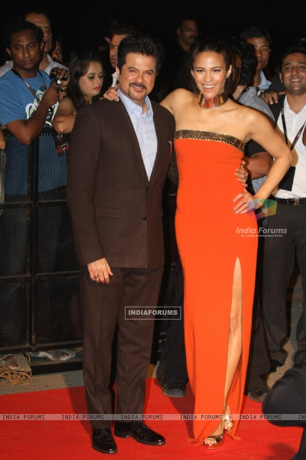 Paula Patton with Anil Kapoor grace the special screening of Mission Impossible at IMAX