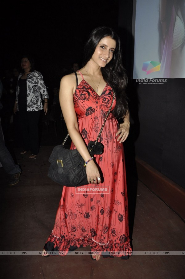 Singer Sona Mahapatra at the launch of designer Simone's collection launch at OPA at Juhu. .